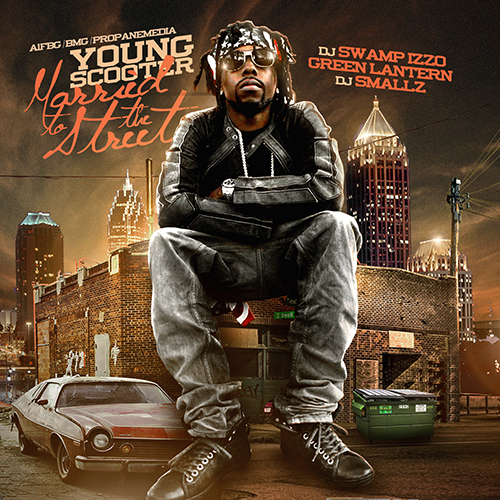 Young Scooter - Married To The Streets Cover Art