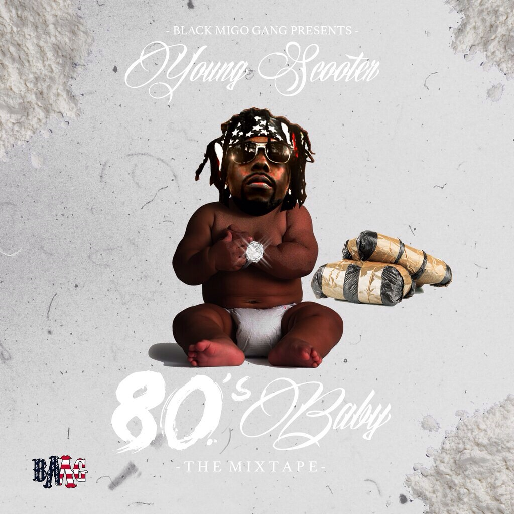 Young Scooter - 80's Baby Cover Art