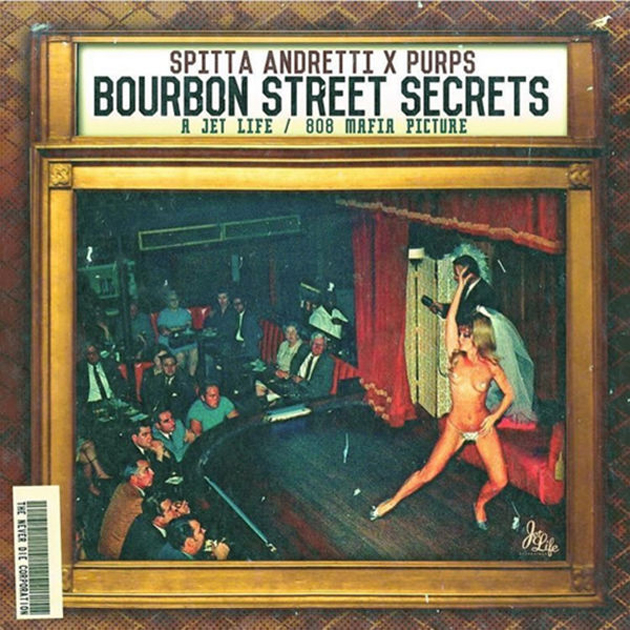 Curren$y - Bourbon Street Secrets Cover Art