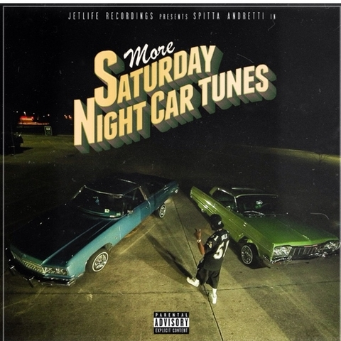 Curren$y - More Saturday Night Car Tunes Cover Art