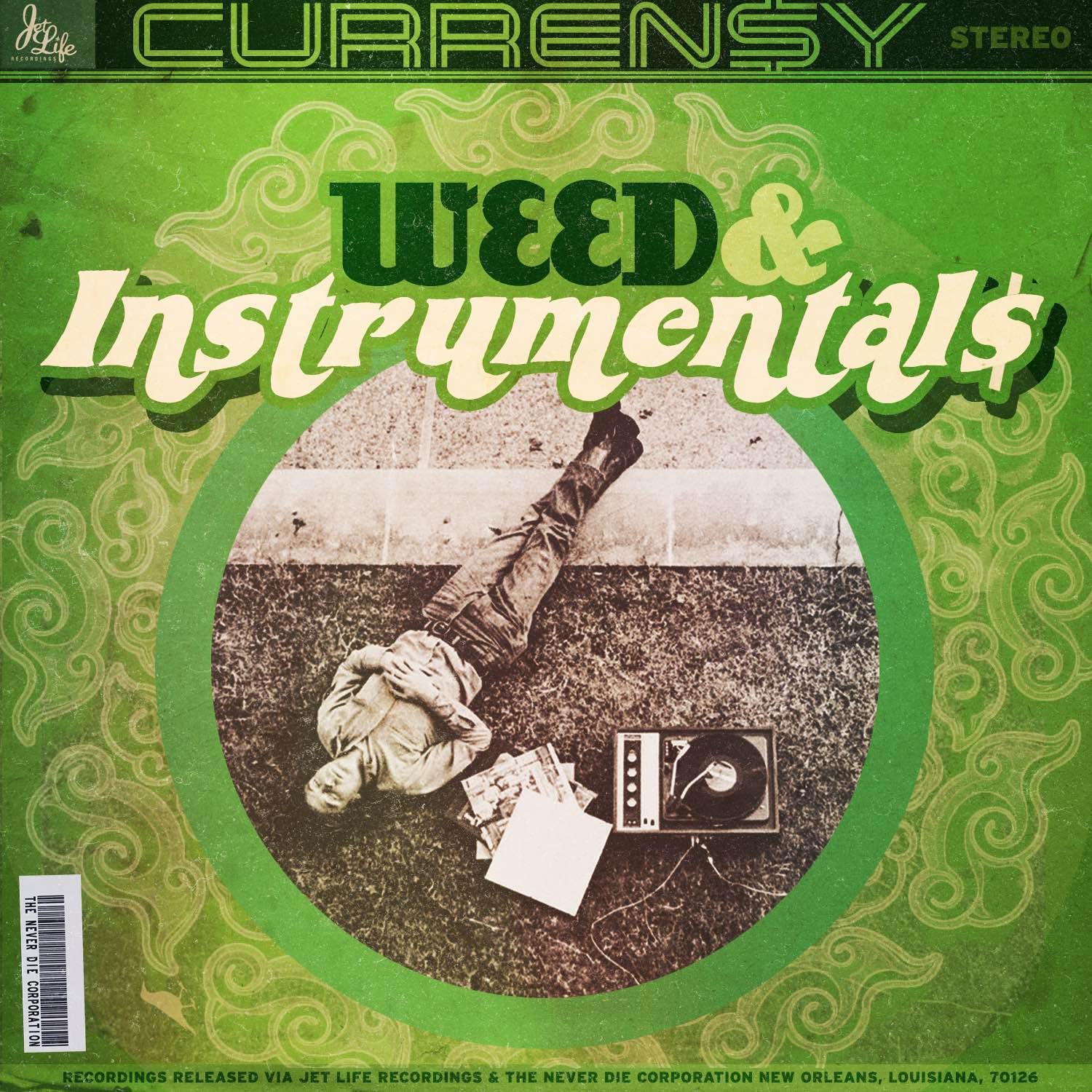 Curren$y - Weed & Instrumentals Cover Art