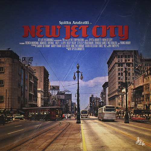 Curren$y - #NewJetCity Cover Art