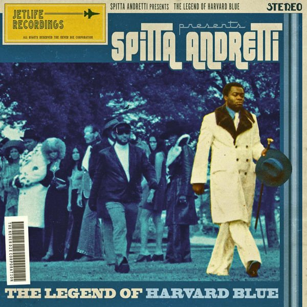 Curren$y - The Legend Of Harvard Blue Cover Art
