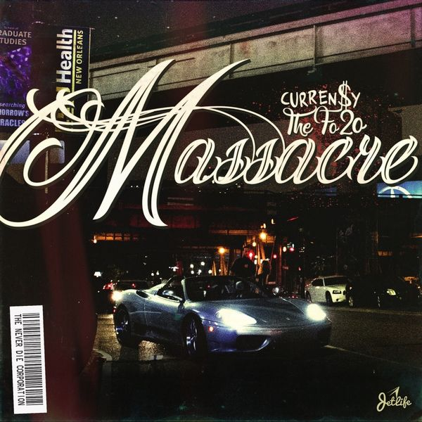 Curren$y - The Fo20 Massacre Cover Art