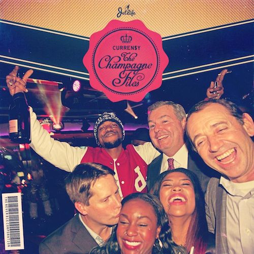 Curren$y - The Champagne Files Cover Art