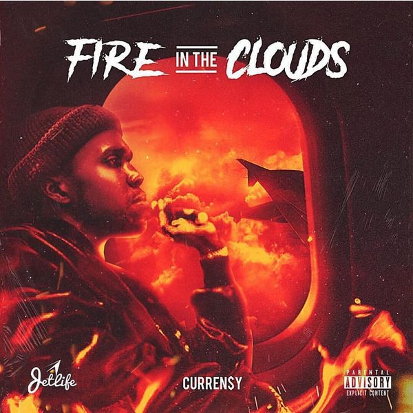 Curren$y - Fire In The Clouds Cover Art