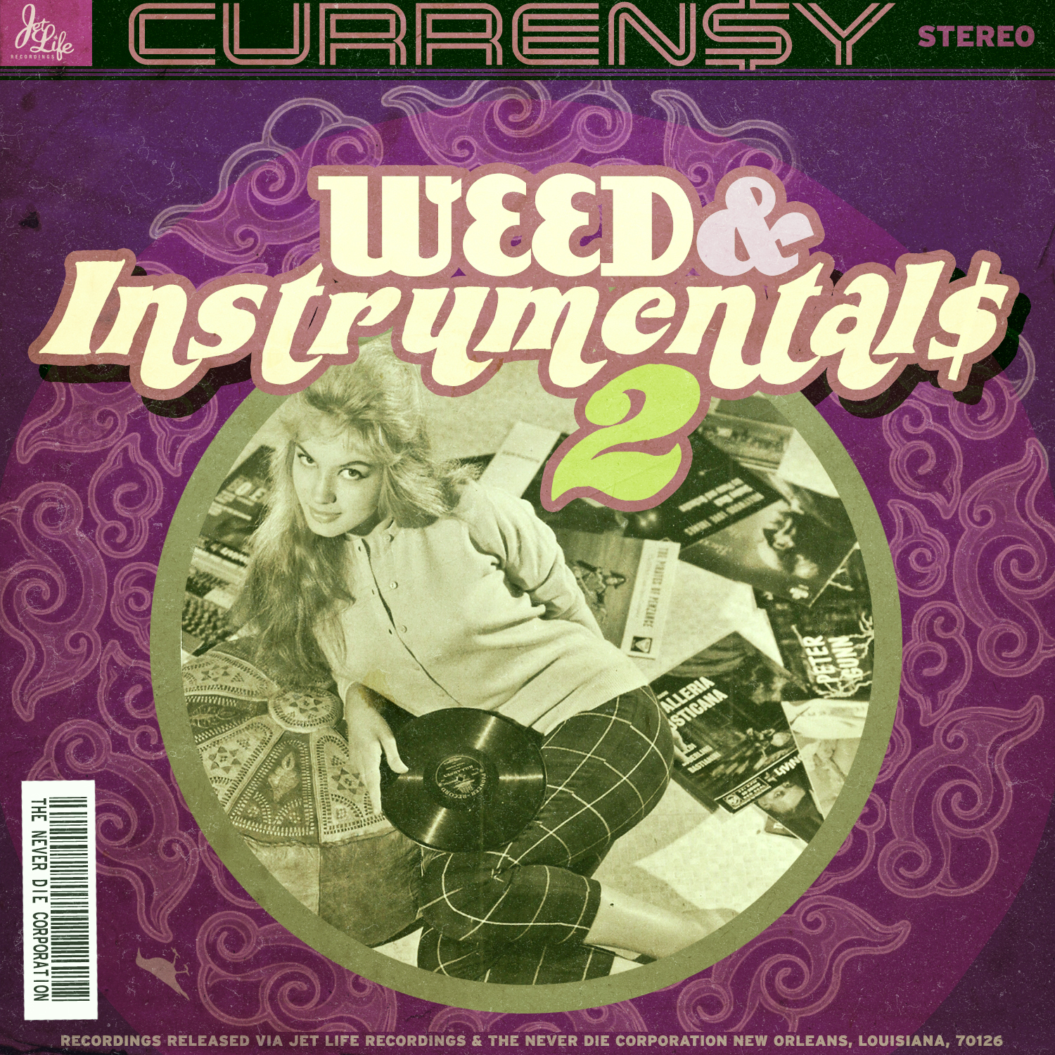 Curren$y - Weed & Instrumentals 2 Cover Art