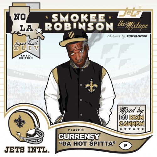 Curren$y - Smokee Robinson Cover Art