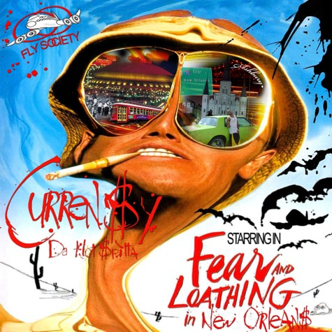 Curren$y - Fear and Loathing in New Orleans Cover Art