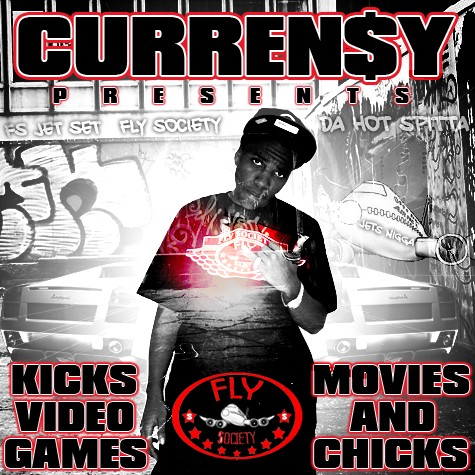 Curren$y - Kicks, Video Games, Movies & Chicks Cover Art