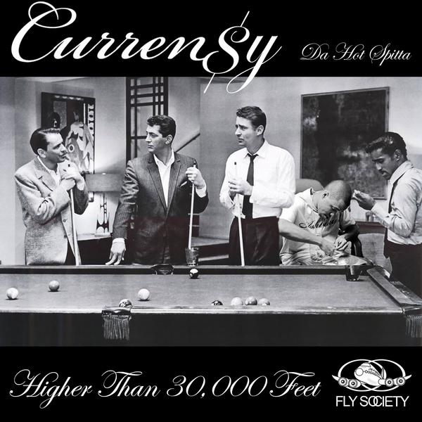 Curren$y - Higher Than 30,000 Feet Cover Art