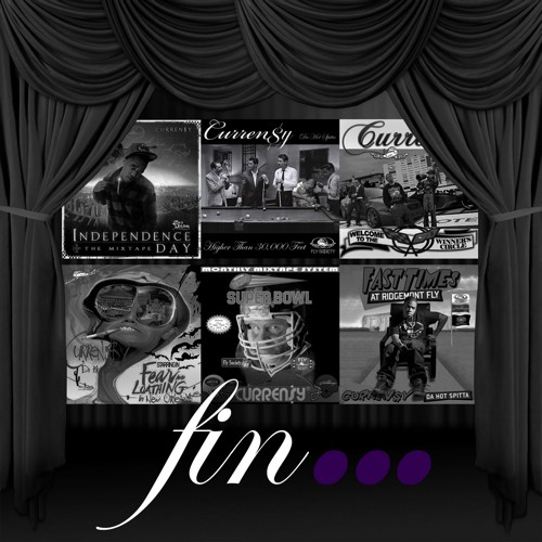 Curren$y - Fin... Cover Art