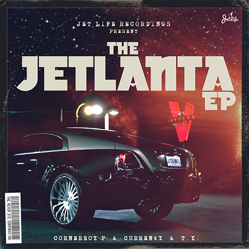 Curren$y, Corner Boy P & T.Y. - Jetlanta Cover Art
