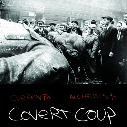 Curren$y & Alchemist - Covert Coup Cover Art