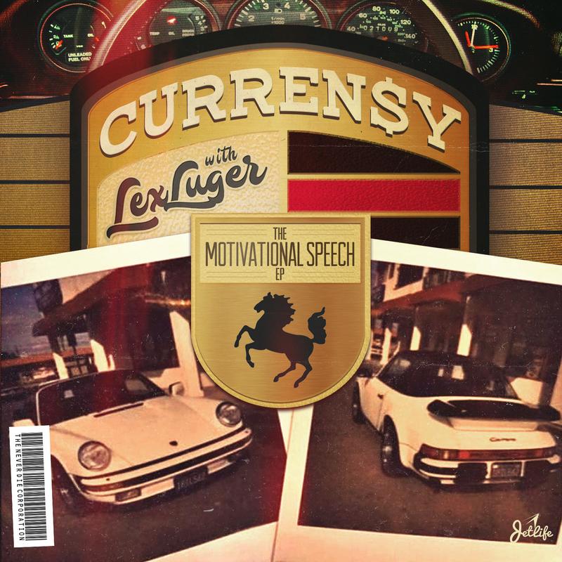The Motivational Speech - Curren$y & Lex Luger Cover Art