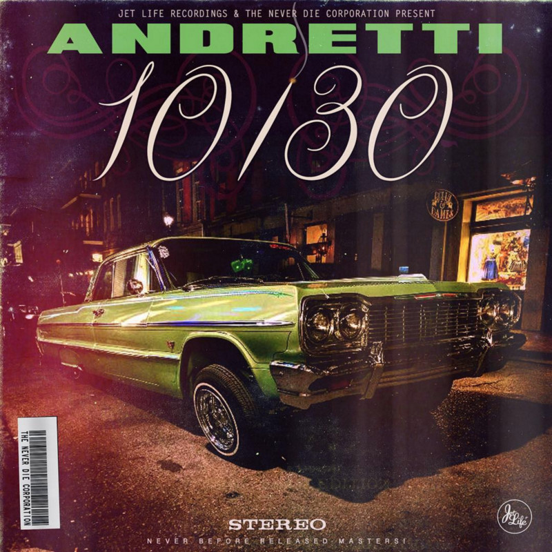 Curren$y - Andretti 10/30 Cover Art