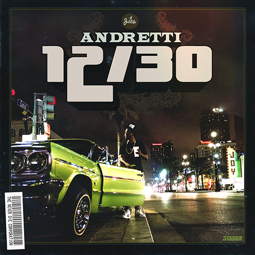 Curren$y - Andretti 12/30 Cover Art