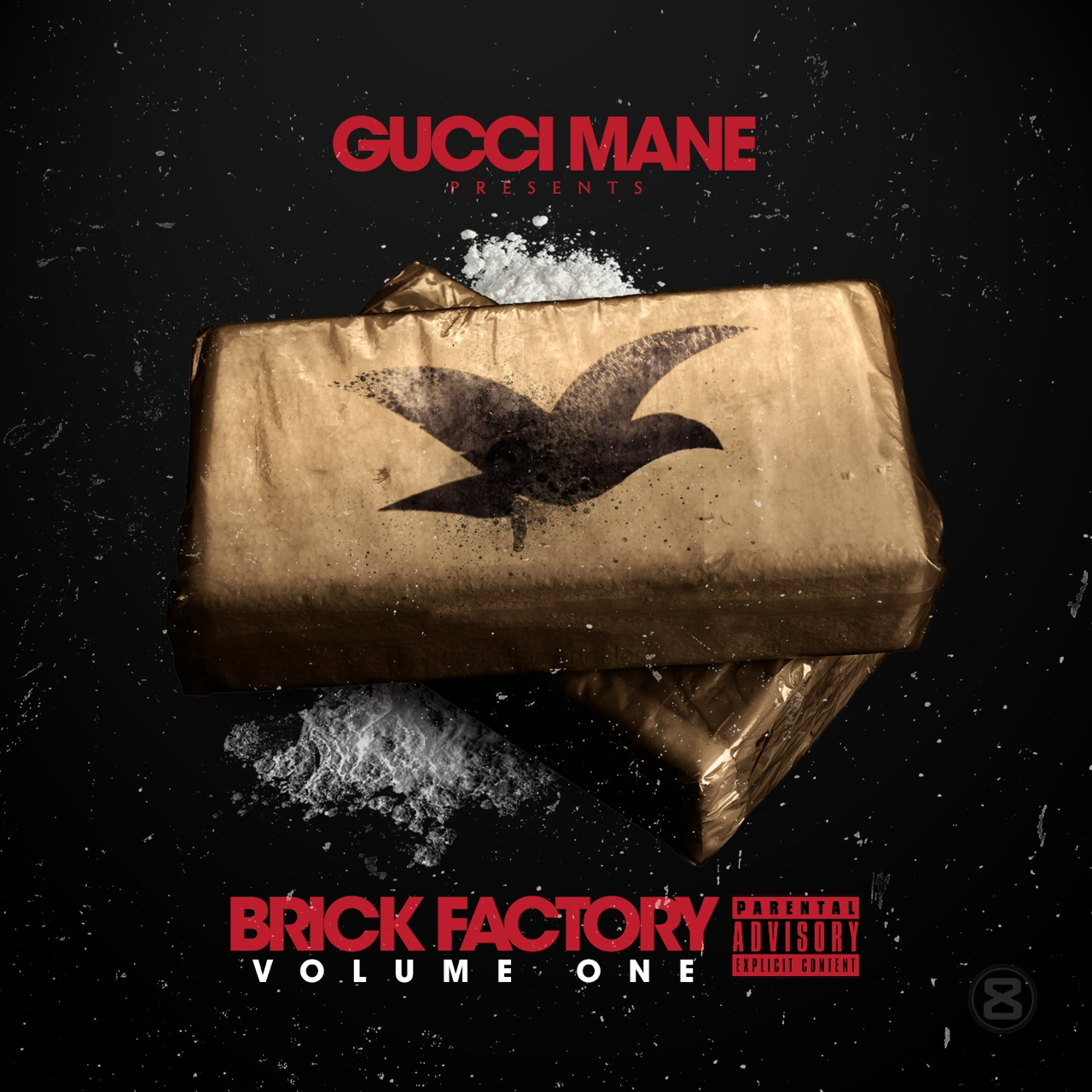 Gucci Mane - Brick Factory Cover Art