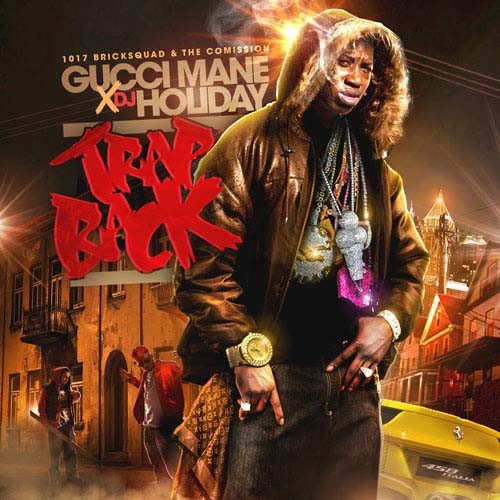 Gucci Mane - Trap Back Cover Art