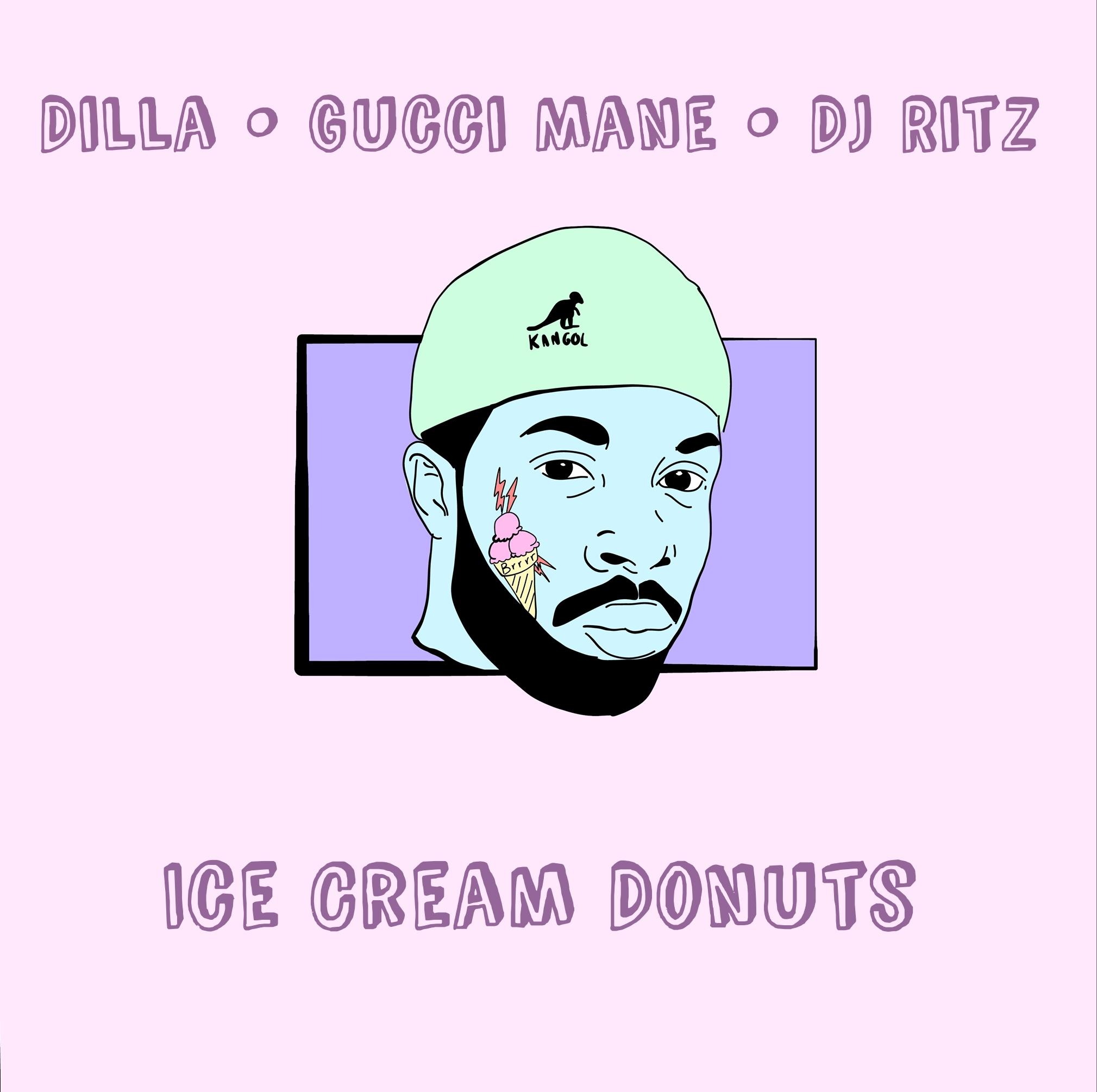 Gucci Mane & J Dilla - Ice Cream Donuts Cover Art