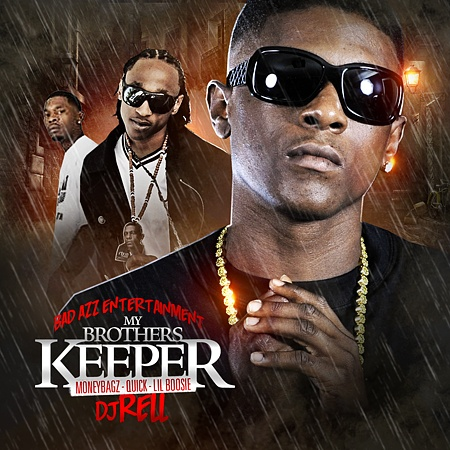 Moneybagz, Quick & Lil Boosie - My Brother's Keeper Cover Art