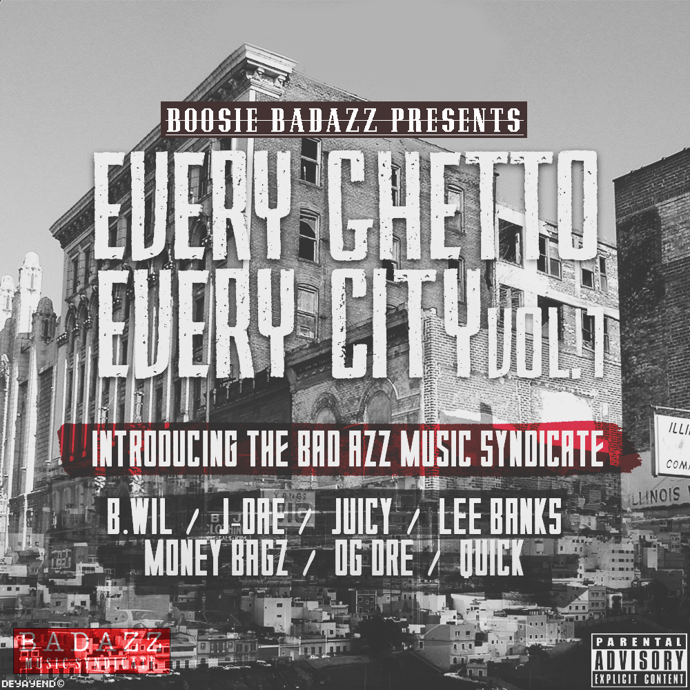 Boosie Badazz - Every Ghetto, Every City Cover Art