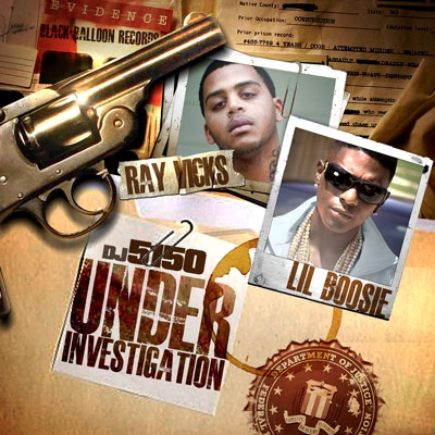 Ray Vicks & Lil Boosie - Under Investigation Cover Art
