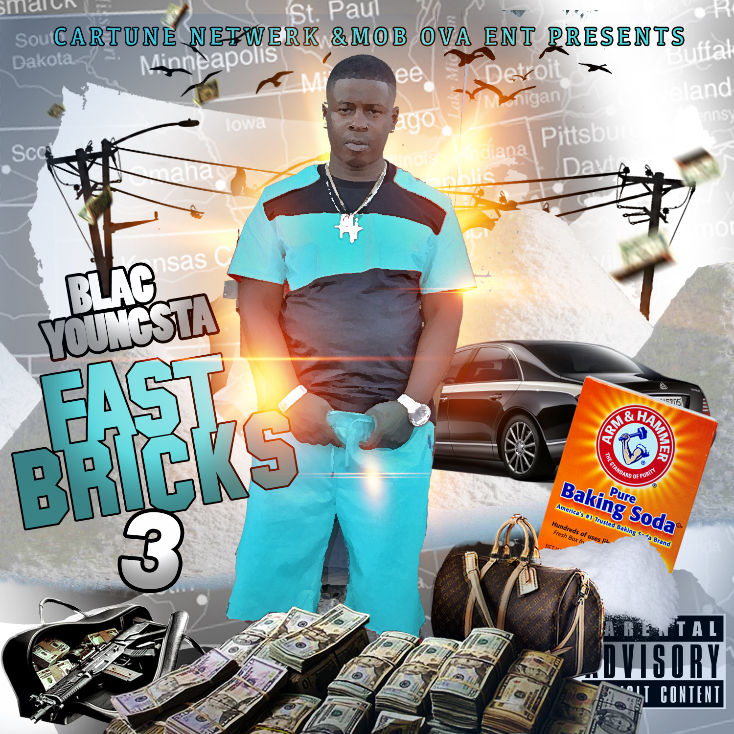 Blac Youngsta - Fast Bricks 3 Cover Art