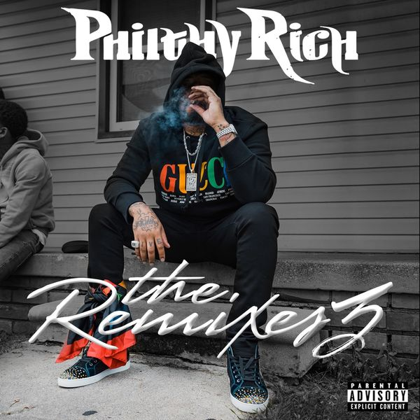 Philthy Rich - The Remixes  Cover Art