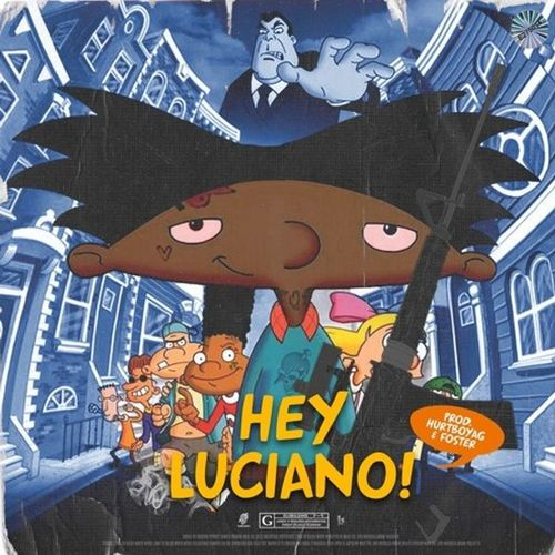 Lil Dude - Hey Luciano! Cover Art