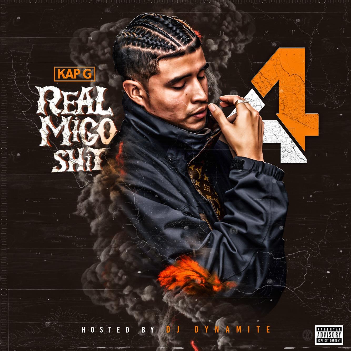 Kap G - Real Migo Shit 4 Cover Art
