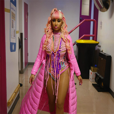 Nicki Minaj - Barbie Drip Cover Art