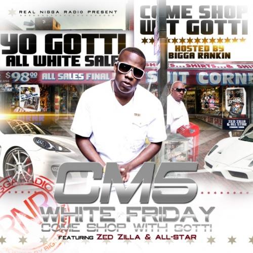 Yo Gotti - Cocaine Muzik 5 (CM5: White Friday) Cover Art