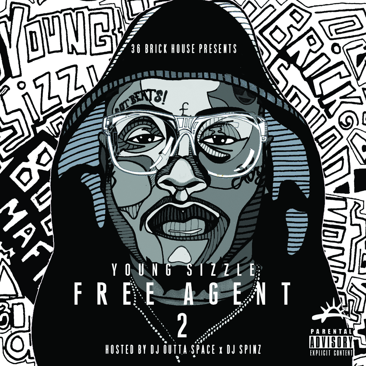 Young Sizzle - Free Agent 2 Cover Art