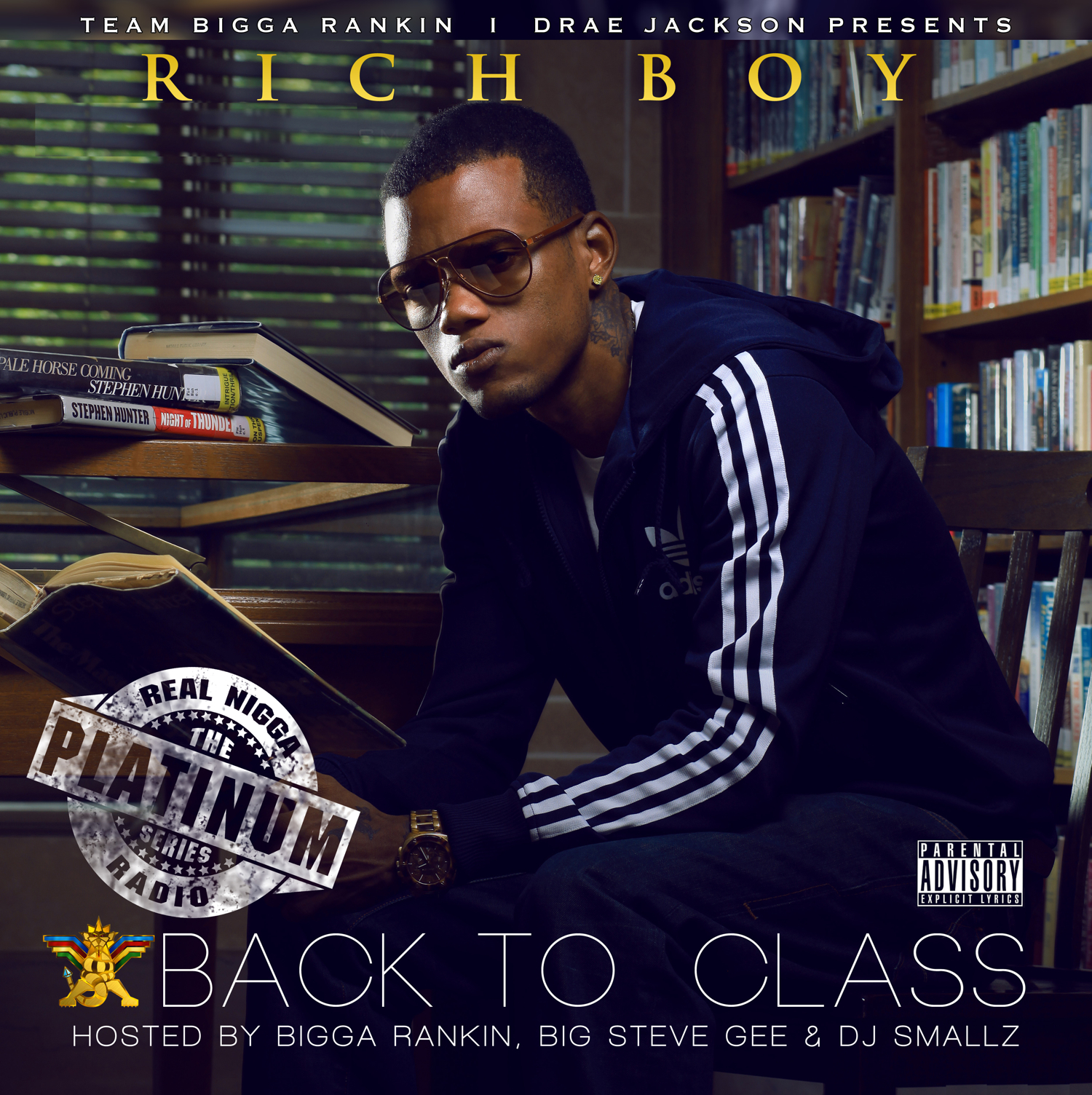 Rich Boy - Back To Class Cover Art