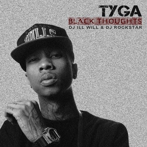Tyga - Black Thoughts Cover Art