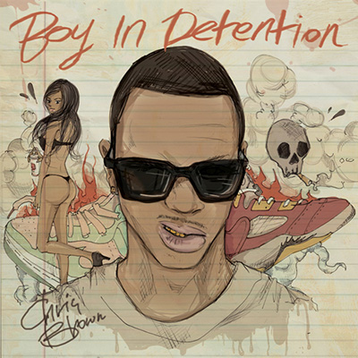 Chris Brown - Boy In Detention Cover Art