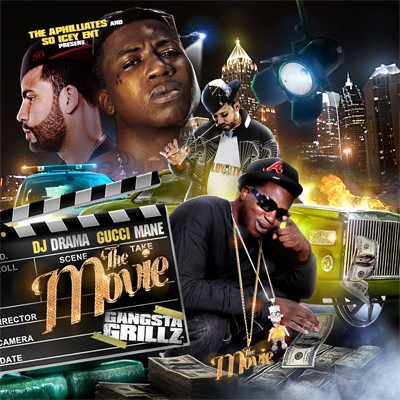 Gucci Mane - The Movie (Gangsta Grillz) Cover Art