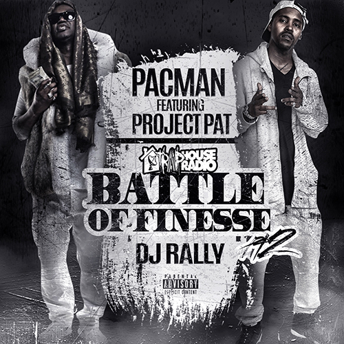 Pacman & Project Pat - Battle Of Finesse Pt. 2 Cover Art