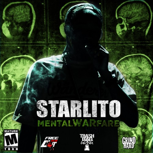 Starlito - Mental WARfare Cover Art