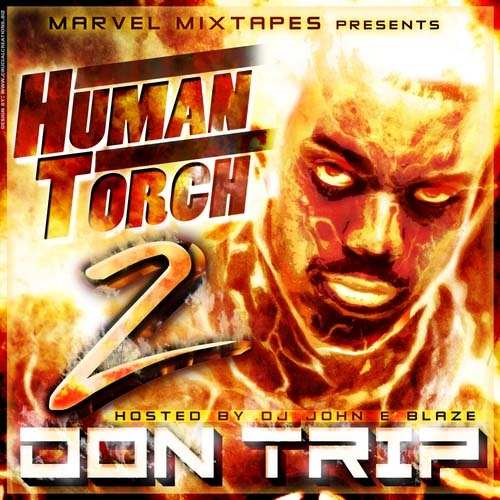 Don Trip - Human Torch 2 Cover Art
