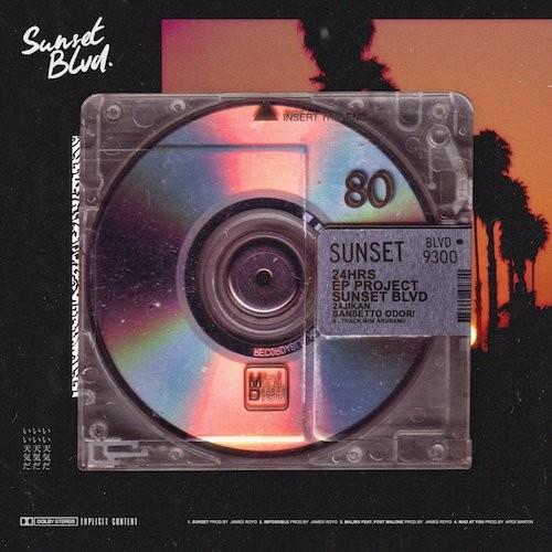 24hrs - Sunset Blvd. Cover Art