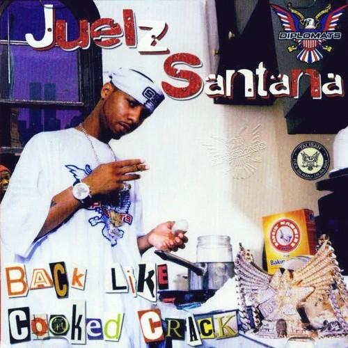 Juelz Santana - Back Like Cooked Crack Vol. 1 Cover Art