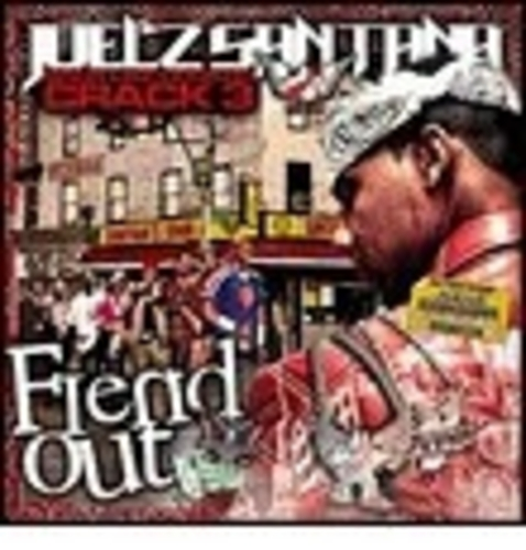 Juelz Santana - Back Like Cooked Crack 3 (Fiend Out) Cover Art