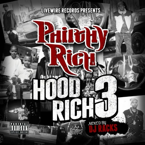 Philthy Rich - Hood Rich 3 Cover Art