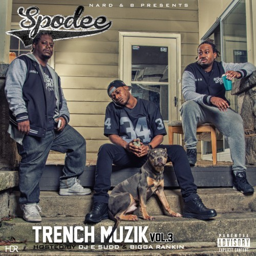 Spodee - Trench Muzik 3 Cover Art
