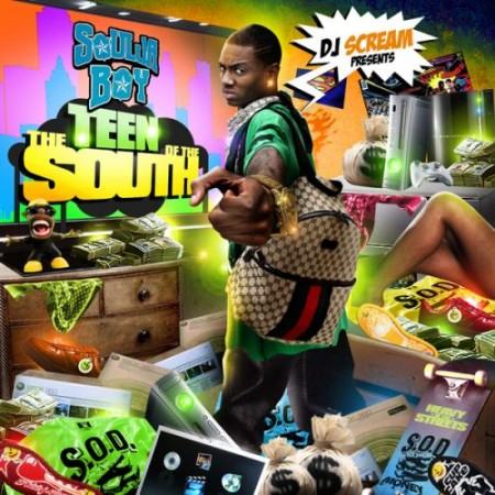 Soulja Boy - The Teen Of The South Cover Art