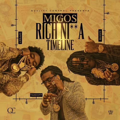 Migos - Rich Nigga Timeline Cover Art