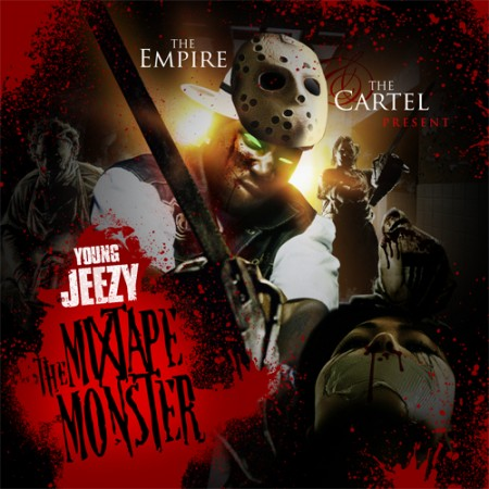 Young Jeezy - The Mixtape Monster Cover Art