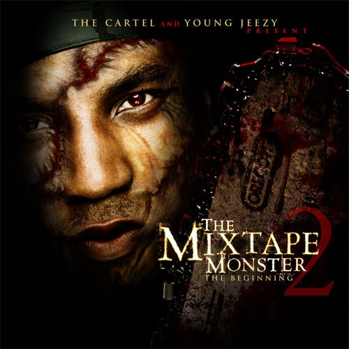 Young Jeezy - The Mixtape Monster 2 (The Beginning) Cover Art
